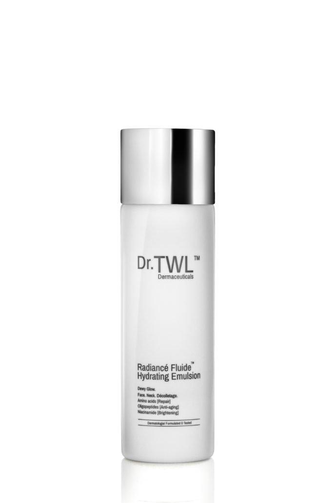 Radiance fluid night moisturizer for sensitive skincare routine