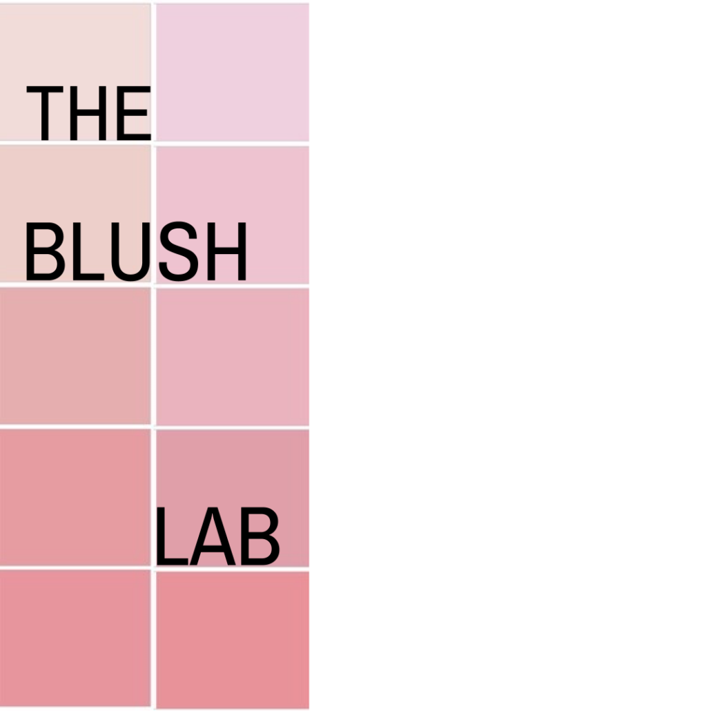 Blush colour for different skin tone types