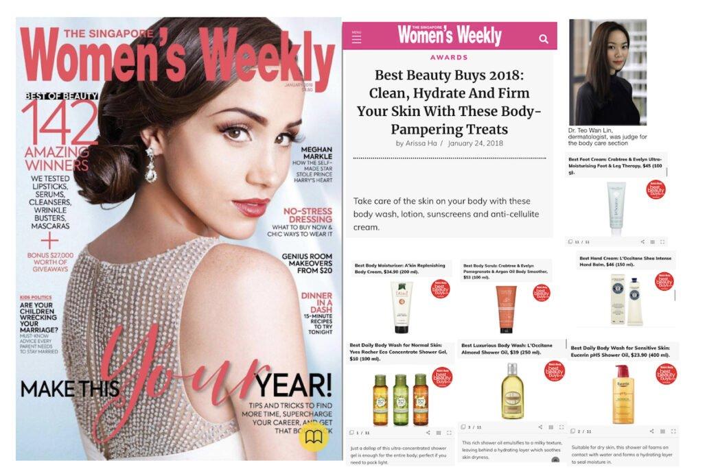 Dermatologist Singapore Womens Weekly Beauty Buys
