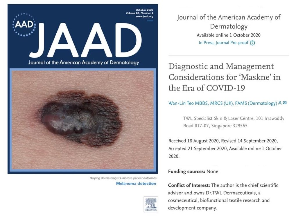 Diagnostic Management Considerations of Maskne In the Era of COVID-19